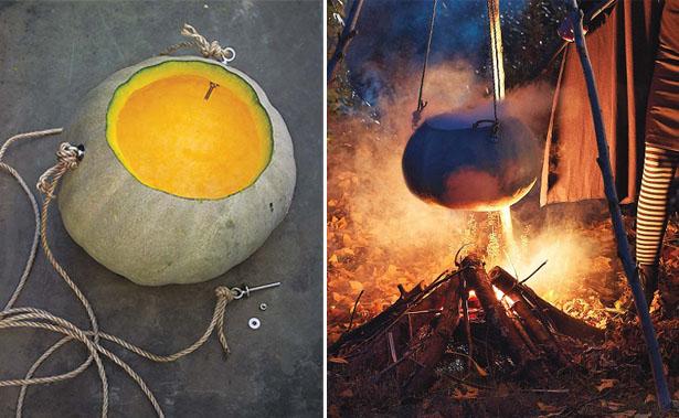 How To Make A Pumpkin Cauldron | Kim Byers