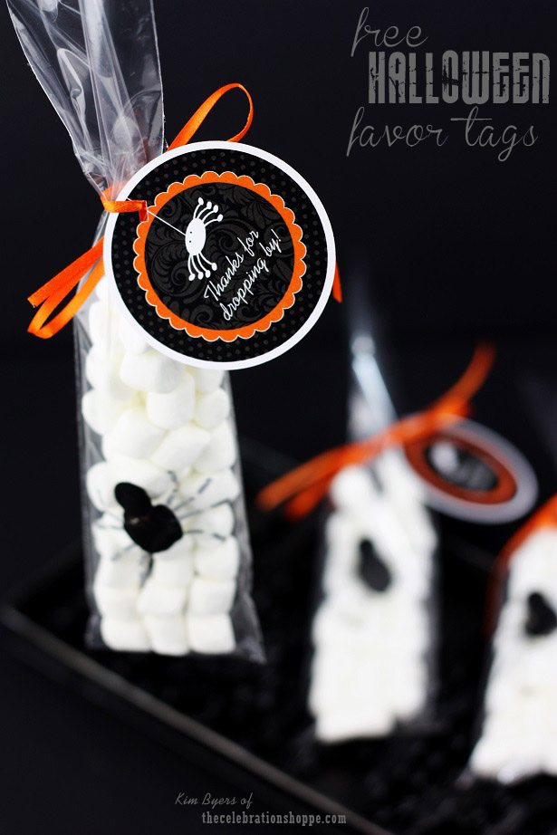 The celebration shoppe halloween tags 5214wl