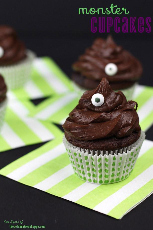 The celebration shoppe monster cupcakes 6289wl