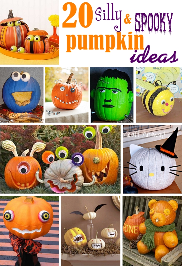 Silly and spooky halloween pumpkins page 005