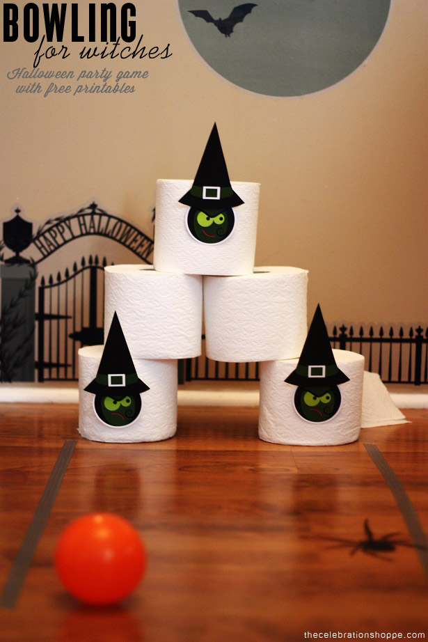 Halloween Game, Bowling for Witches | Kim Byers