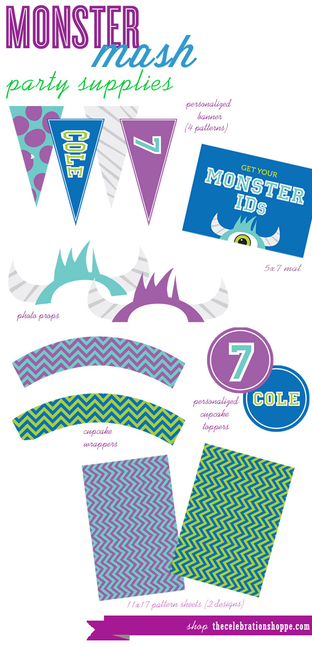 Monster Mash Party Supplies | Kim Byers