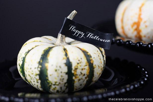 Easy Washi Tape Pumpkin Decorating | Kim Byers