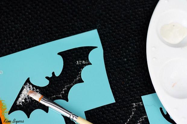 Halloween Bat Craft