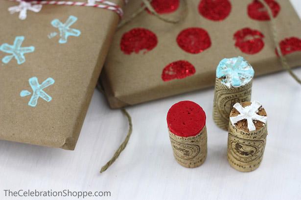 DIY Gift Wrap   TheCelebrationShoppe.com