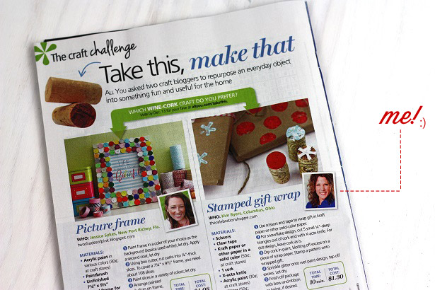 Kim Byers of The Celebration Shoppe featured in All You magazine