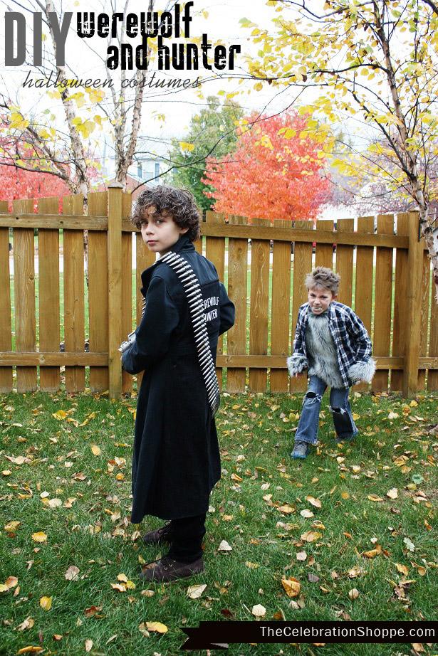 DIY Werewolf Halloween Costume Boy | Kim Byers
