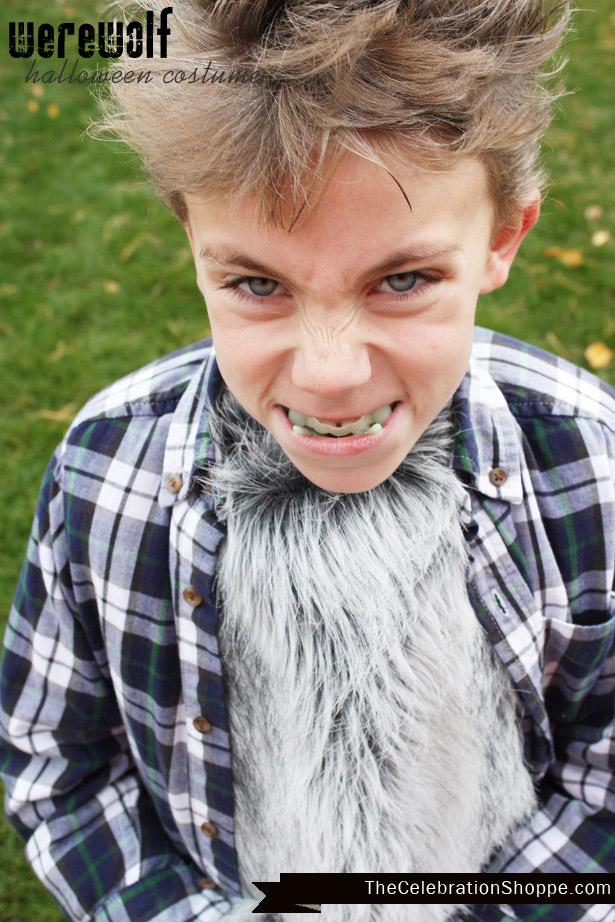 DIY Werewolf Halloween Costume | Kim Byers
