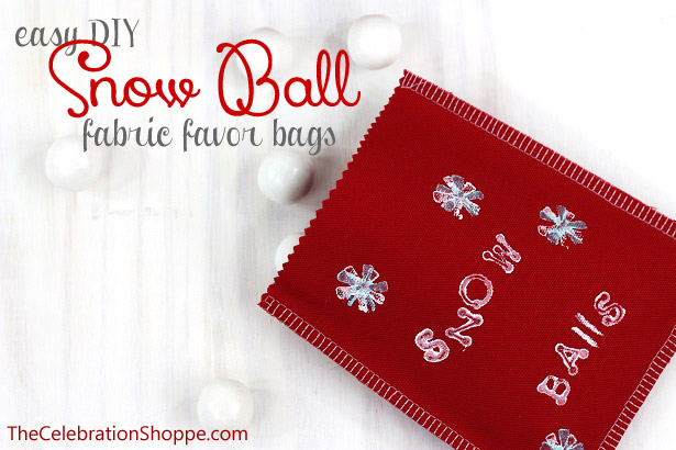 Easy fabric favor bags 1234wl