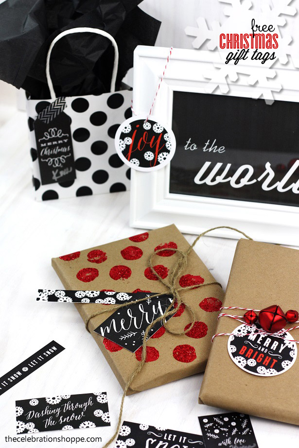 The celebration shoppe chalkboard gift tags 1439wt