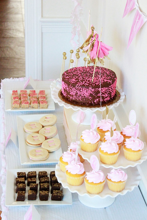 Pink and Gold 60th Birthday Party