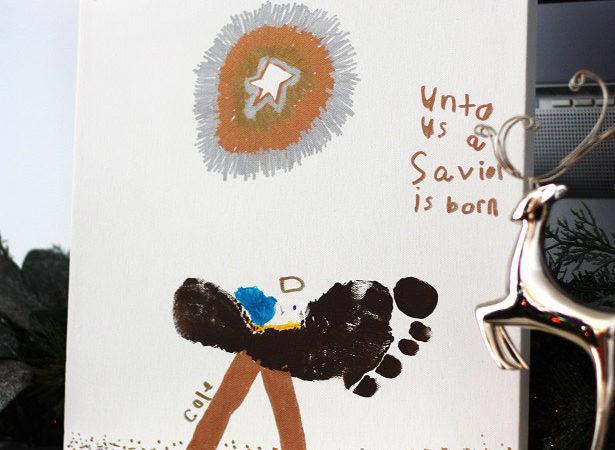 1 the celebration shoppe footprint manger 2401wl