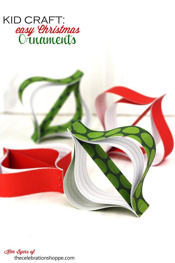 Thecelebrationshoppe easy diy christmas ornament 2292sm