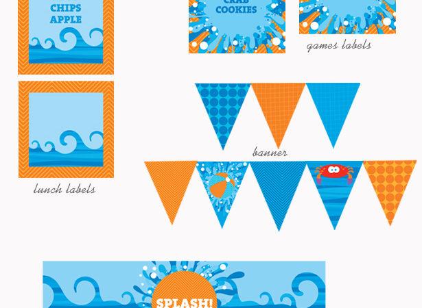 Deep blue sea collection board