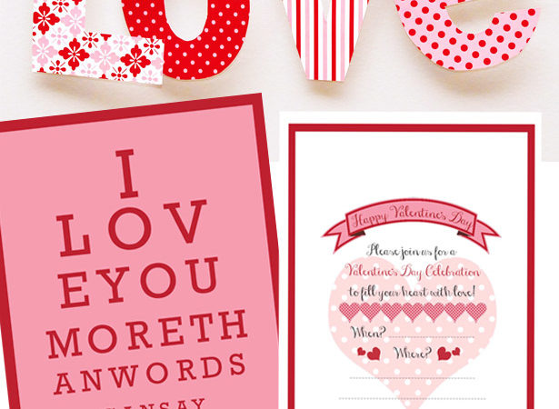 Free valentines printable downloads