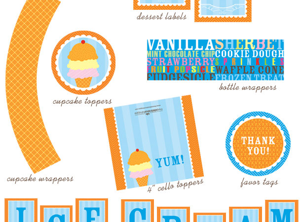 Ice cream collection story board