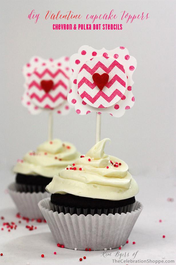 1 diy valentine cupcake toppers kim byers 3145