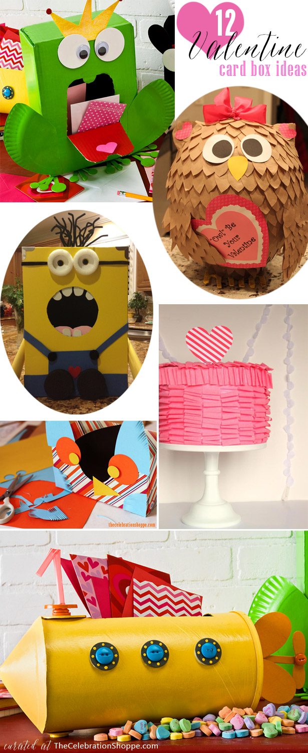 12 Valentine Card Box Ideas for Class Parties
