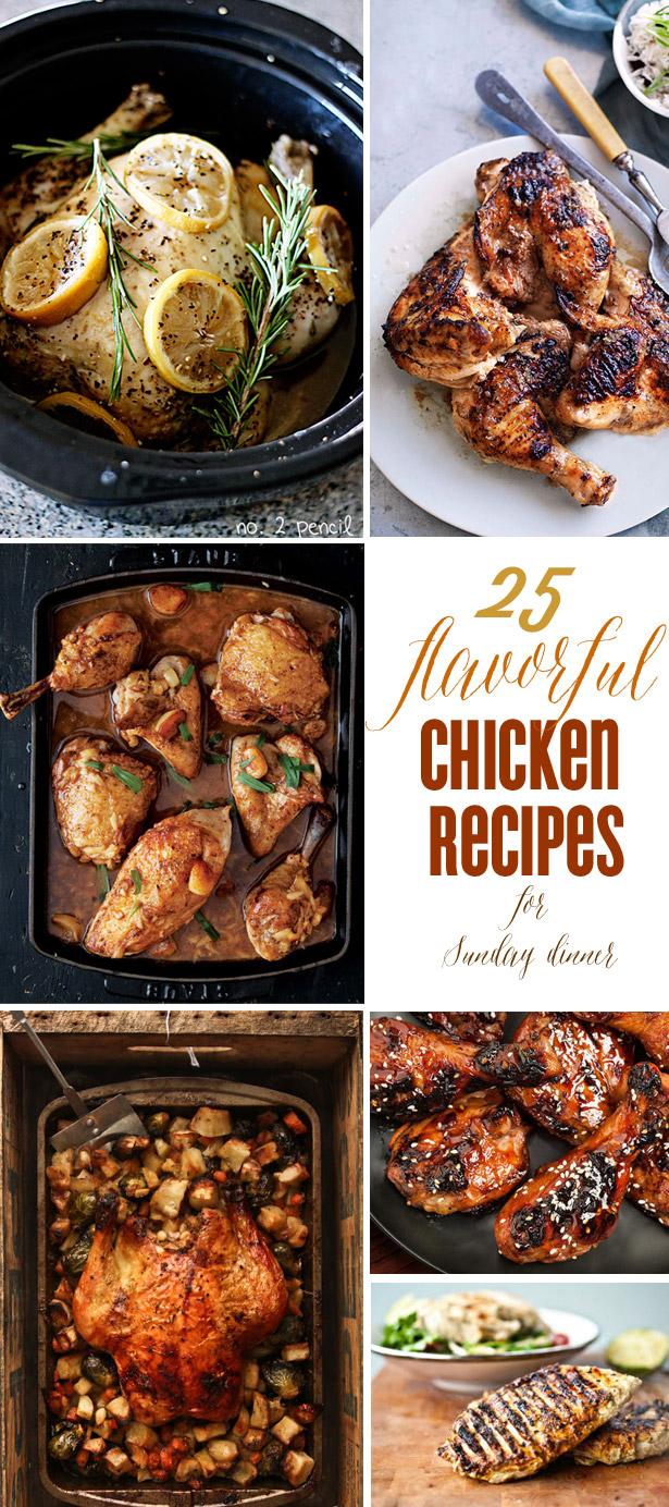 25 chicken recipes for sunday dinner