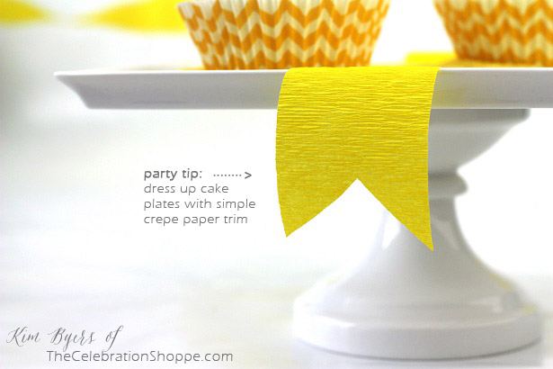 Inexpensive Party Tip |Kim Byers, TheCelebrationShoppe.com