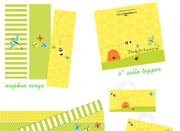 Bugs butterflies party supplies the celebration shoppe kb