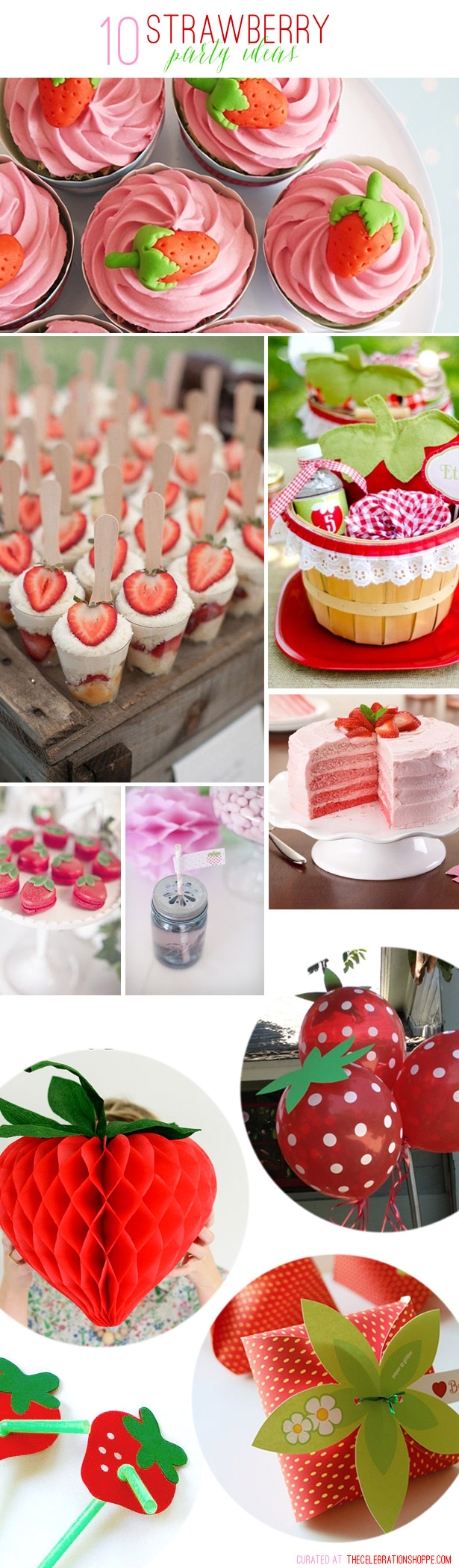 10 strawberry party ideas