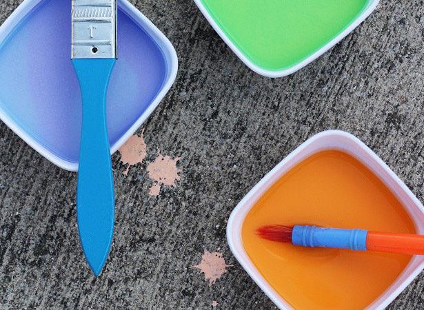 How to make sidewalk chalk paint with kim byers 2