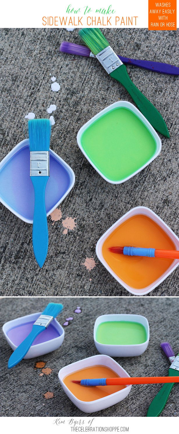 How to make sidewalk chalk paint with kim byers 2