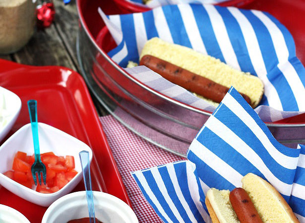 1 how to make your own hot dog bar with kim byers