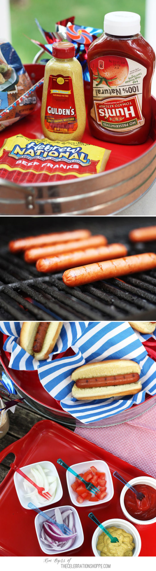 Summer Grilling & Make Your Own Hot Dog Bar   Kim Byers, TheCelebrationShoppe.com