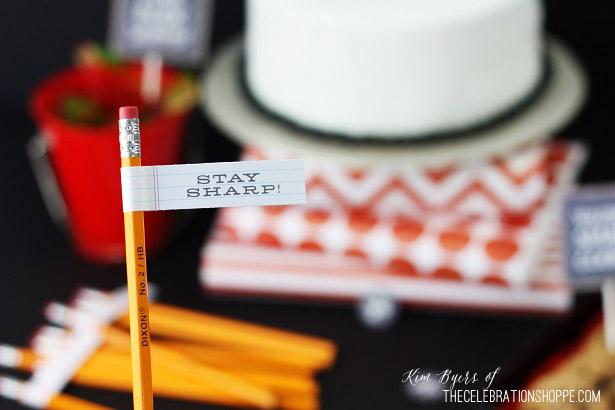 Back To School Party | Kim Byers, TheCelebrationShoppe.com