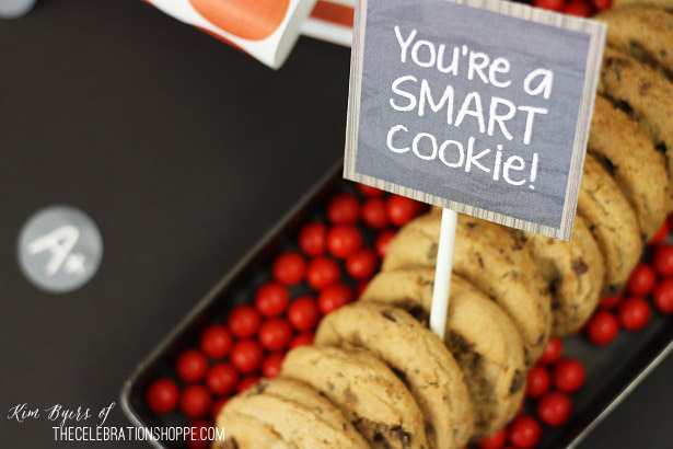 Back To School Party + Free Party Printables | Kim Byers, TheCelebrationShoppe.com