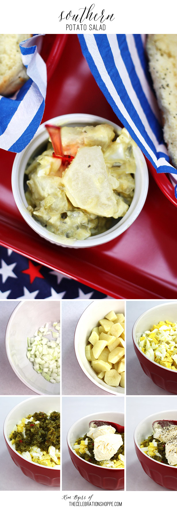 Southern Potato Salad Recipe | Kim Byers, TheCelebrationShoppe.com