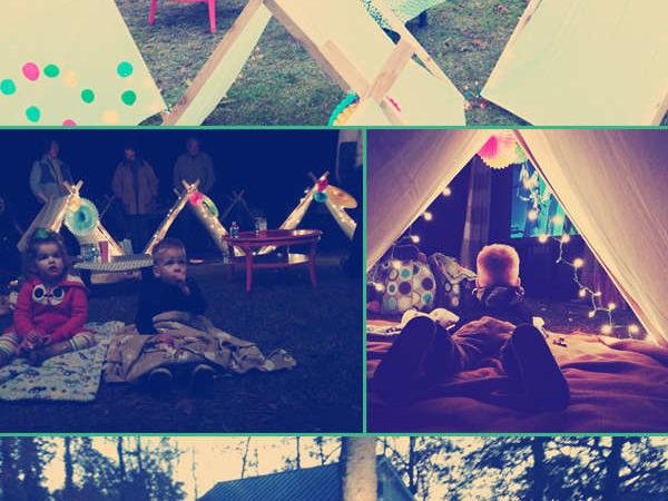 Vivi 2 birthday movie party cihaia