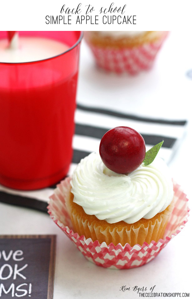Back to school apple cupcakes kim byers