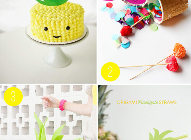 Pineapple trend party ideas