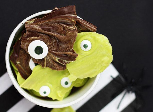 Creature candy bark recipe kim byers