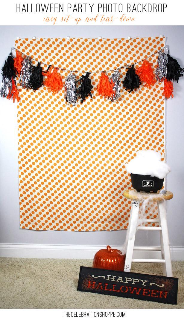 Halloween-Party-Photo-Backdrop | Kim Byers