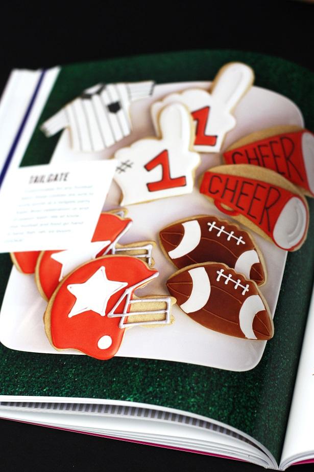 Football Cookies by Bridget Edwards