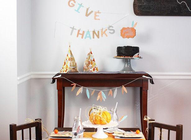 Thanksgiving kids table all kim byers 3