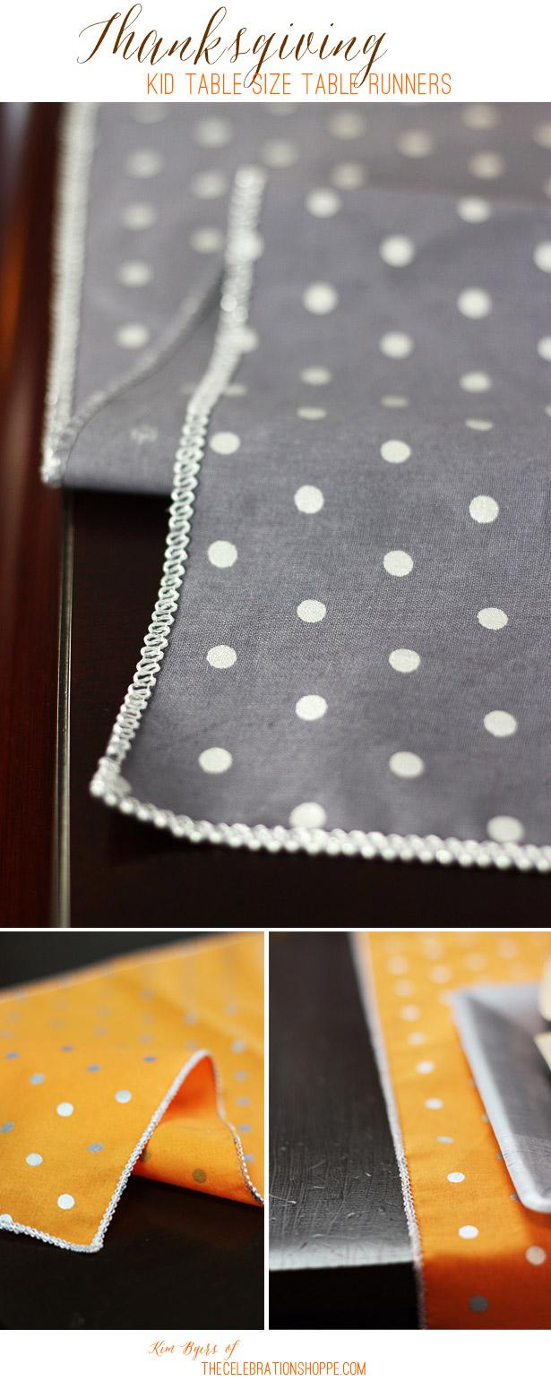 Easy Sew Table Runner | Kim Byers, TheCelebrationShoppe.com