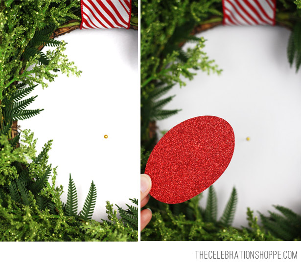 Reindeer Nose for Wreath