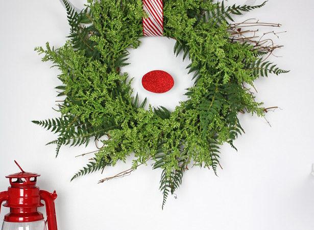 Reindeer wreath by kim byers