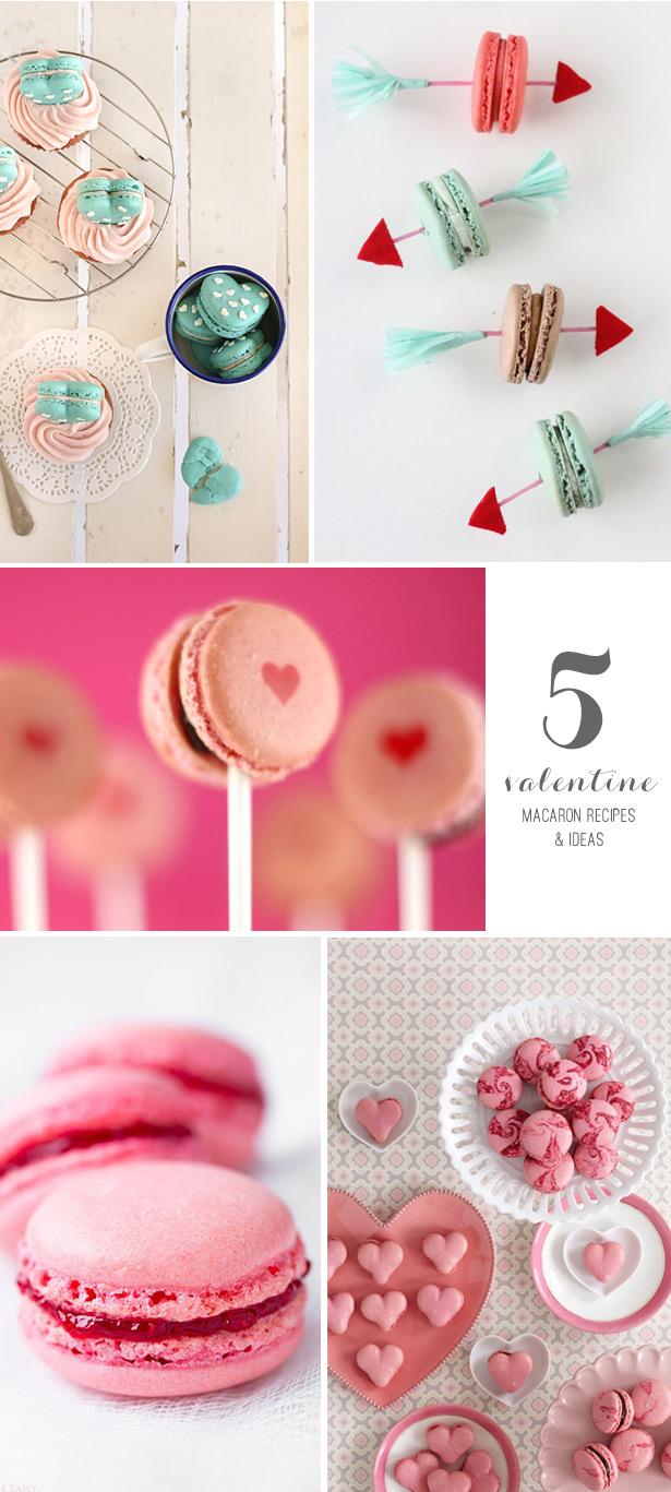 5 Valentine Macaron Recipes and Ideas