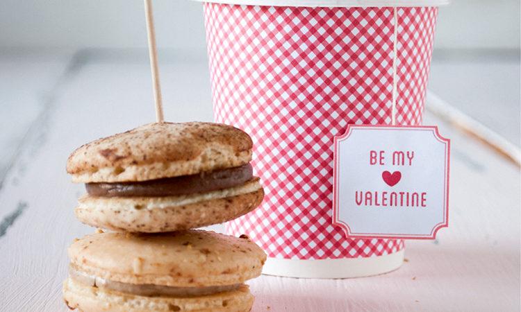 Be my valentine tea tag download