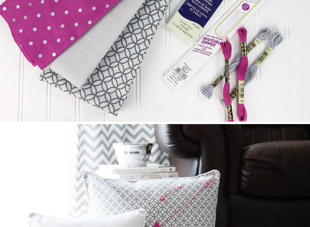 Diy pillow cover tutorial kim byers