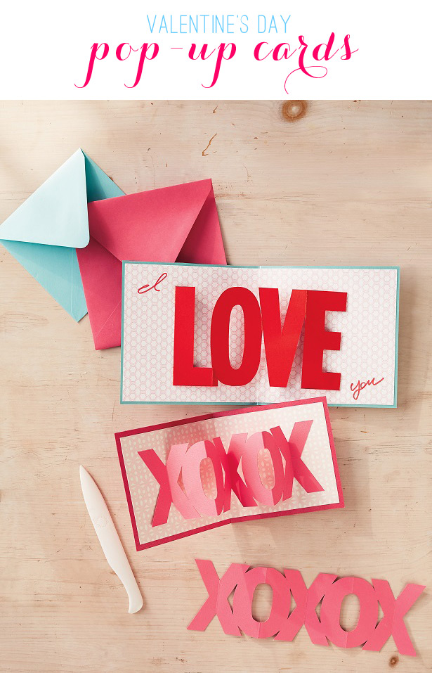 Easy Pop-Up Valentine's Day Cards