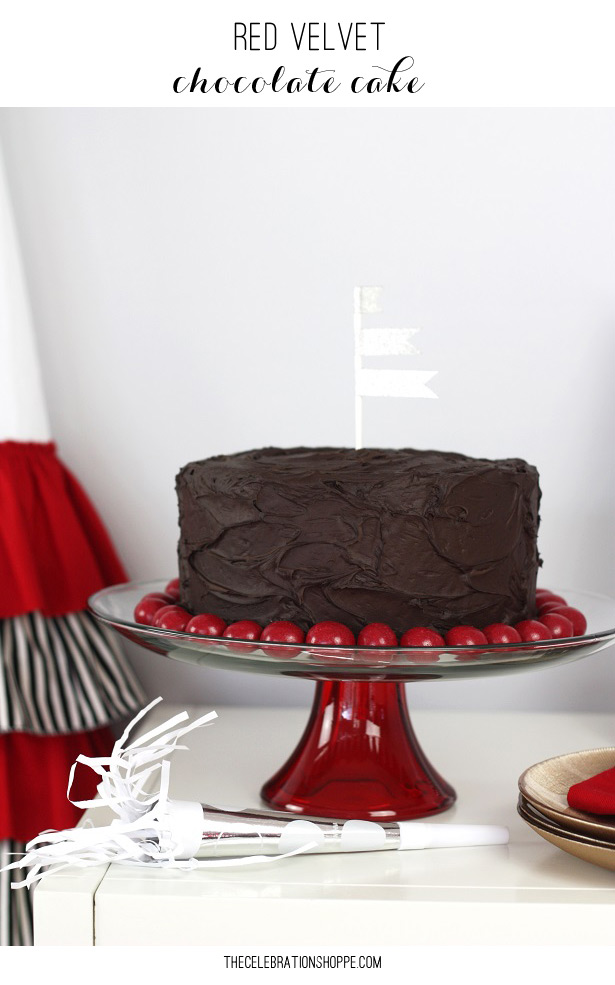 Red velvet chocolate cake kim byers