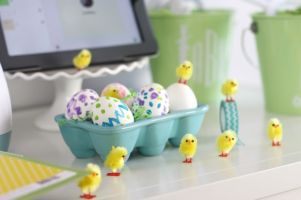 Easter Chick Bunting Inspiration   Kim Byers