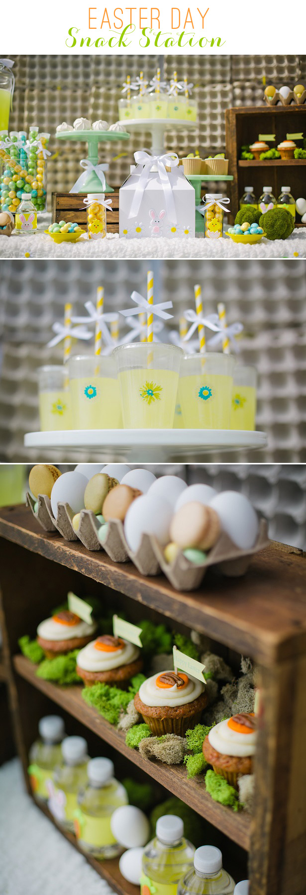 Easter snack station something chic